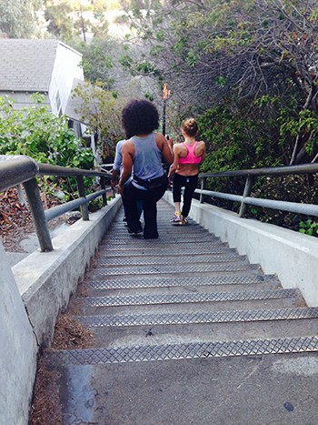 "Santa Monica ""The Stairs"" #1"